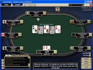 download poker table screenshot