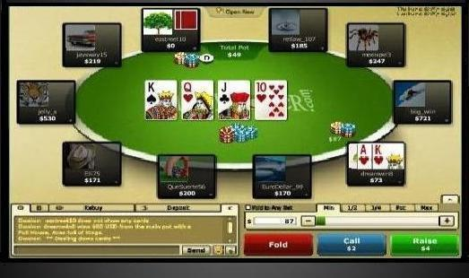 texas holdem online for money