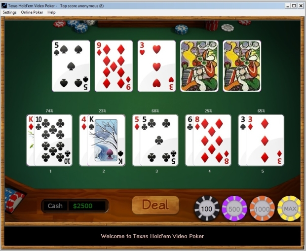 download poker texas holdem