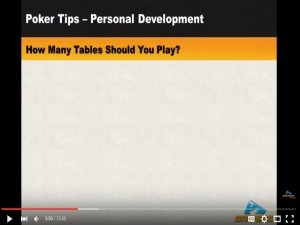texas hold'em multi-tabling-poker- video
