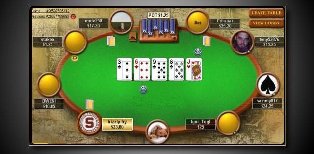 online poker rooms free