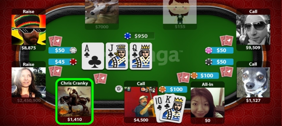 game android texas holdem poker