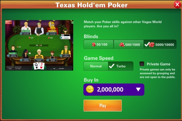 free play texas holdem poker
